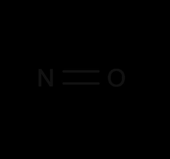 Formula for nitric oxide